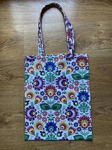 Nákupné tašky - Taška cez plece - folk - 13342447_