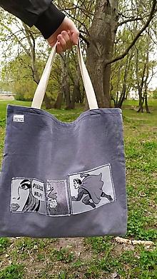 Veľké tašky - Recy taška so zdokumentovanou záchrannou akciou - 13341067_