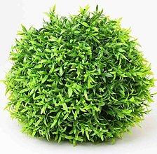 Iný materiál - umelá zeleň-krušpán guľa (26cm) - 13341956_