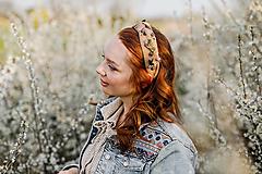 """Ozdoby do vlasov - Vintage čelenka  """"spomienky na lásku"""" - 13340709_"""