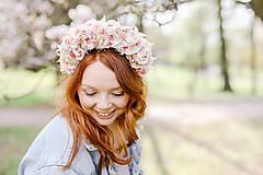 """Ozdoby do vlasov - Kvetinová parta """"voniaš mi májom"""" - 13340787_"""