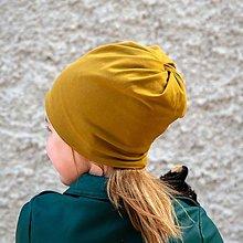 Čiapky - MULTIFUNKČNÁ čiapka (aj) na cop - 33 farieb - 13340858_