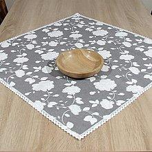 Úžitkový textil - ROSALIE - štvorcový obrus(2) - 13339862_