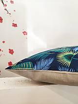 Úžitkový textil - Obliečka na vankúš 40x40cm Tropic - 13341626_