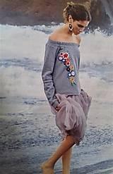"Mikiny - Mikina ""Floral"", s vyšívanými kvietkami - 13342889_"