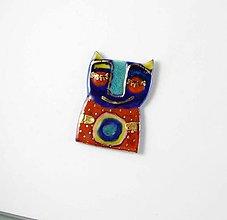 Odznaky/Brošne - Tana šperky - keramika/zlato - 13342940_