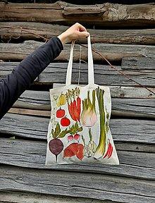 Nákupné tašky - Zeleninová nákupná taška - 13343478_