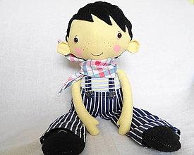 Hračky - Miňo - bábika chlapec - 13345213_