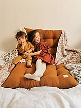 Úžitkový textil - Ľanová leňoška - matrac na leňošenie - 13343717_