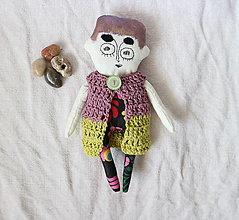 Bábiky - pani s tmavým obočím ... - 13347516_