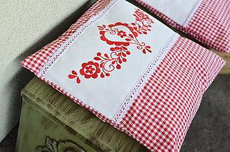 Úžitkový textil - Vyšívané vankúše - 13346270_