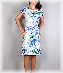 Šaty - Šaty s řasením v pase vz.654 - 13348782_