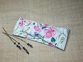Ozdoby do vlasov - Čelenka ,kvety na lúke - 13349001_