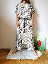Iné oblečenie - Mušelínový kostým s jeleňmi - 13346442_