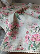 Úžitkový textil - Obrus orchidea - 13347815_