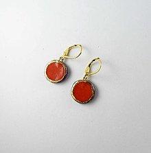 Náušnice - TANA hand made jewellery - keramika/zlato - 13348041_