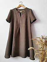 Šaty - Svieže ľanové šatičky ;) - 13345841_