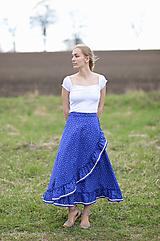 Sukne - zavinovacia sukňa Klárka  - 13346062_
