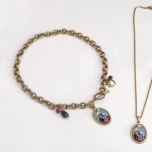 náhrdelník Mária, milovaná ....