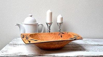 Nádoby - Veľká,drevená misa - 13346223_