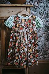 Detské oblečenie - Kvietkované šaty Betty - 13346950_