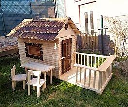 Nábytok - Domček pre deti - 13348475_
