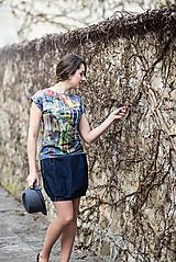 Topy - Tričko s autorským potiskem Old Town - 13347541_