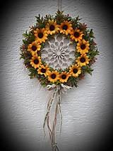 Dekorácie - Dekorácia záves - Mandala - 13350600_