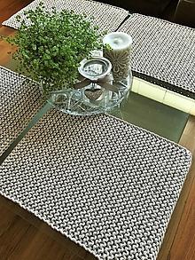 Úžitkový textil - Prestieranie na stôl (Béžová-melanž) - 13351513_