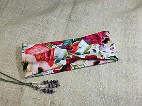 Ozdoby do vlasov - Čelenka ,plná ruží - 13349498_