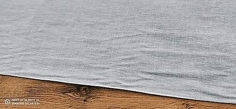 Textil - Ľan (Modrošedý) - 13349574_
