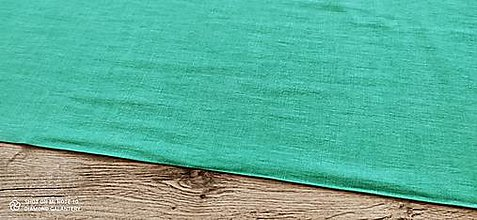 Textil - Ľan (Zelený) - 13349575_