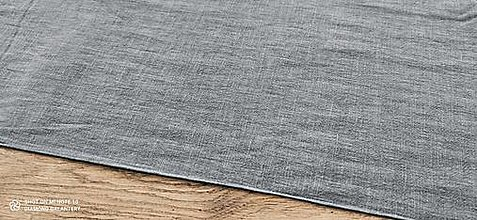 Textil - Ľan (Tmavošedý) - 13349577_