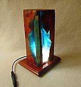Svietidlá a sviečky - Nočná lampa V jaskyni - 13350295_