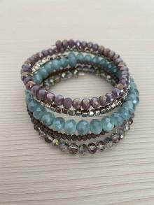 Náramky - MultiLayer náramok Tyrkys/ MultiLayer bracelet Tyrkys - 13351310_