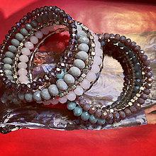 Náramky - MultiLayer náramok Old Pinkie /MultiLayer bracelet Old Pinkie - 13351342_