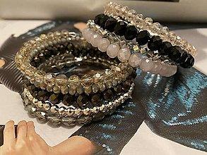 Náramky - MultiLayer náramok Brownie /MultiLayer bracelet Brownie - 13351440_