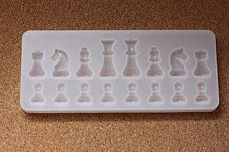 Pomôcky/Nástroje - Silikónová forma Šachové figúrky - 13350057_
