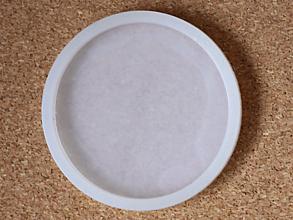 Pomôcky/Nástroje - Okrúhla silikónová forma na výrobu podšálok 12,5 cm priemer - 13350304_