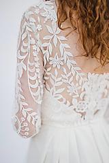 Šaty - Svadobné šaty z boho - etno krajky SKLADOM - 13352025_