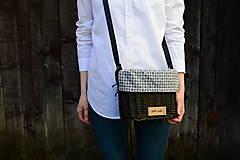 Kabelky - Upcy prútená kabelka na rameno N°2 - 13352955_