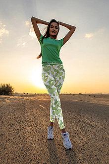 Nohavice - Dizajnové legíny a tričko dvojsety - 13350231_