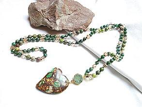 Náhrdelníky - Boho náhrdelník - 13352359_