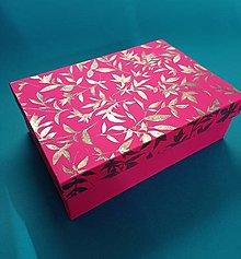 Krabičky - magic box lístky - 13351988_