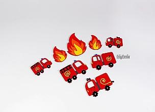 Detské doplnky - Hasičské autá - 13354787_