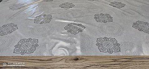 Iný materiál - PVC obrus tenší (Mandala) - 13355402_