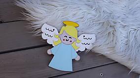 Dekorácie - Pamiatková sviečka a anjelik - 13354535_