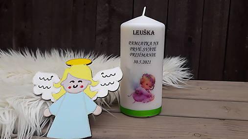 Pamiatková sviečka a anjelik