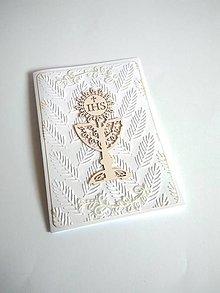 Papiernictvo - pohľadnica 1. sväté prijímanie - 13354455_