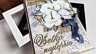 Papiernictvo - Všetko najlepšie pohľadnica - 13353446_